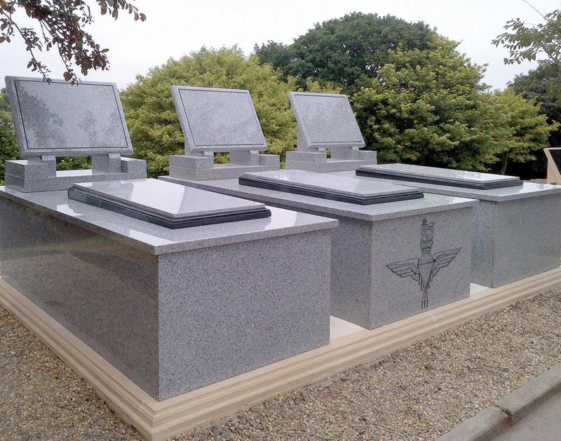 7 interments - above and below ground sarcophagi burial chamber scheme