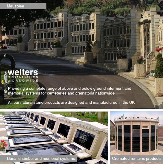 welters provides the complete range of interment and memorial products and systems