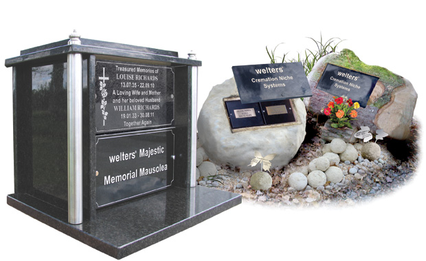welters Majestic and Memorial Orb interment systems