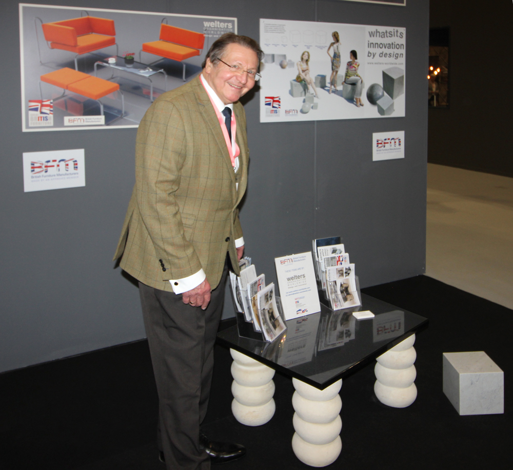 CEO Keith Welters at the January Furniture Show