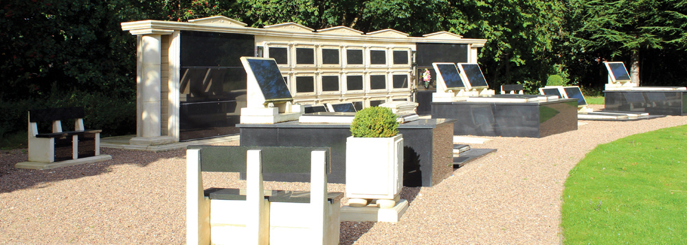 An example of welters' mausolea, sarcophagi and burial chambers