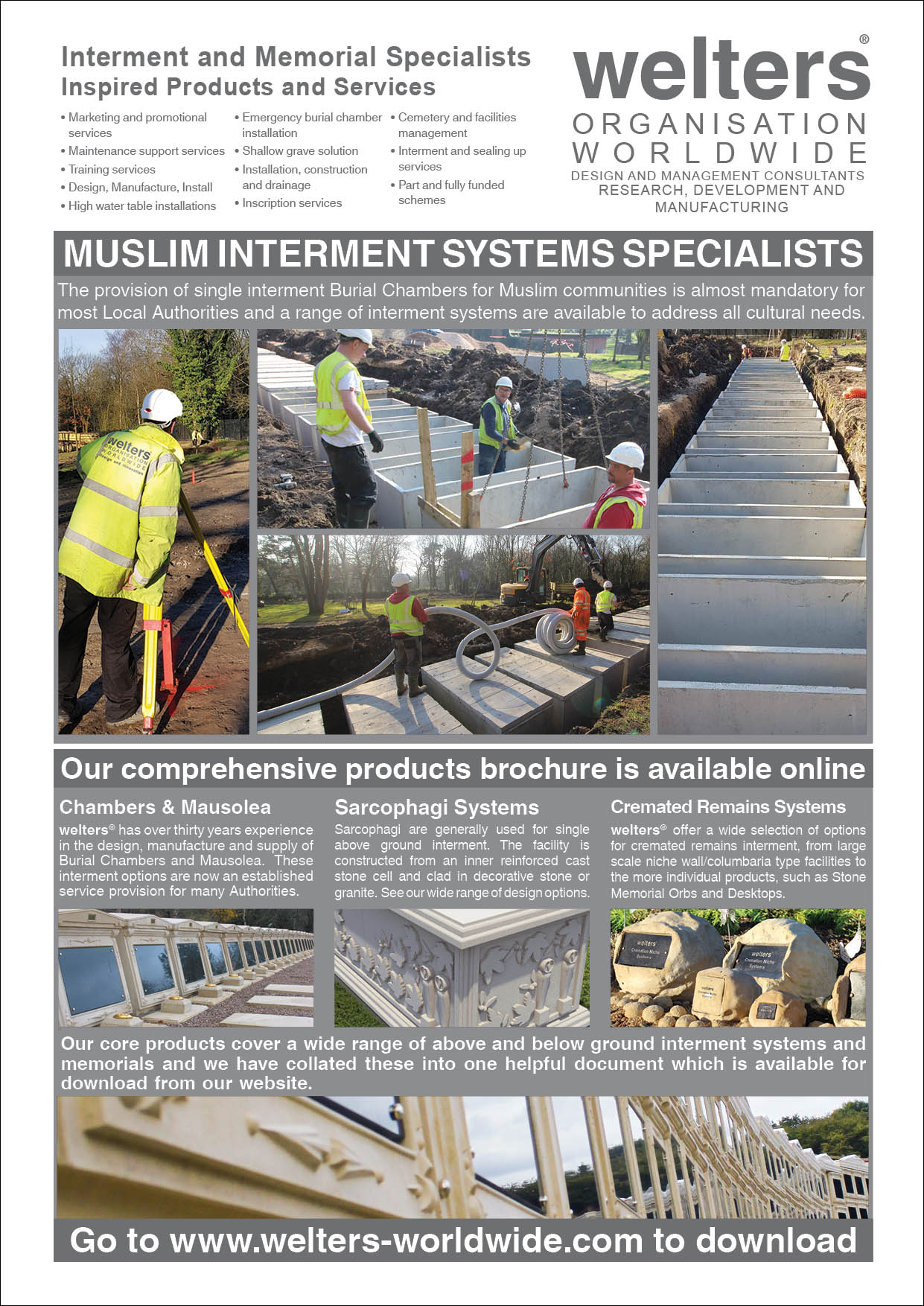 welters Interment Systems Specialists